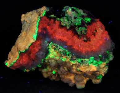 Fluorescent Mineral Photos